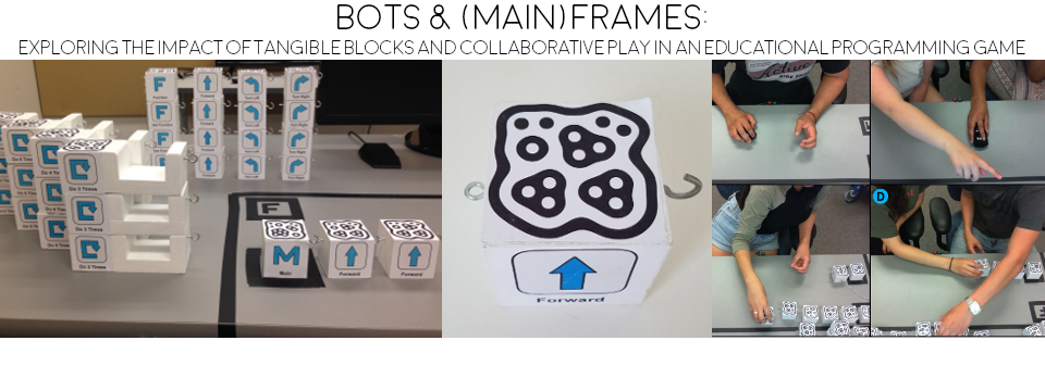 Tangible and Graphical Versions of Bots & (Main)Frames